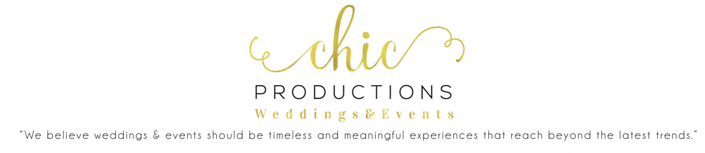 Chic Productions - Luxury Wedding Planners in California