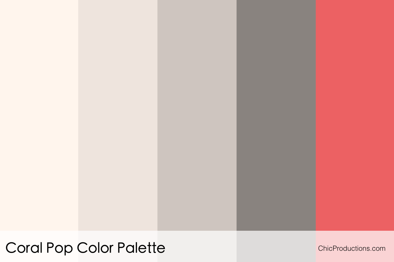 Nutral Colors Color Palettes Chic Productions