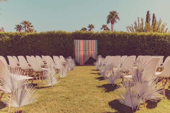 Palm Springs Hipster Wedding