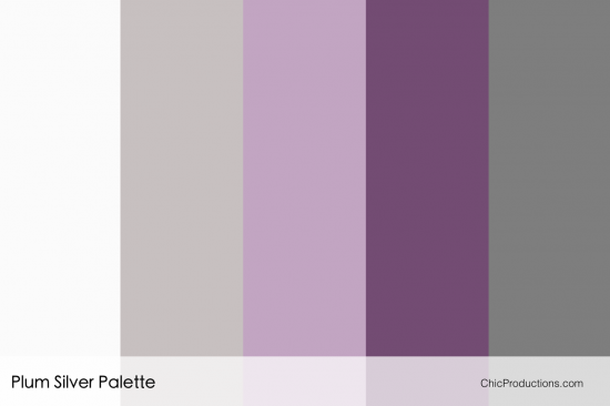 Plum and silver wedding colors - South Asian Wedding Planner